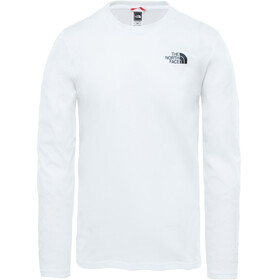 The North Face Easy - Camiseta de manga larga Hombre - blanco